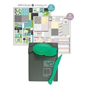 Picture of Whispering Lilac and Tropical Blooms Collection Pillow Box Punch Board Bundle